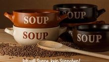 Ich will Suppe, kein Sueppchen!