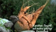 """""""Die fiesen Karottens sind zu groß für mich!"""""""