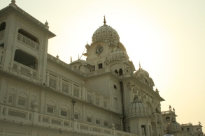 Compund of the Golden Temple in Amritsar