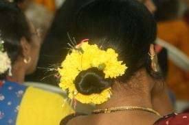 Traditioneller Haarschmuck