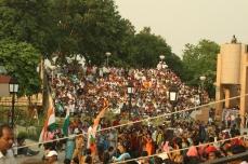 Die indische Seite während des Zeremoniells