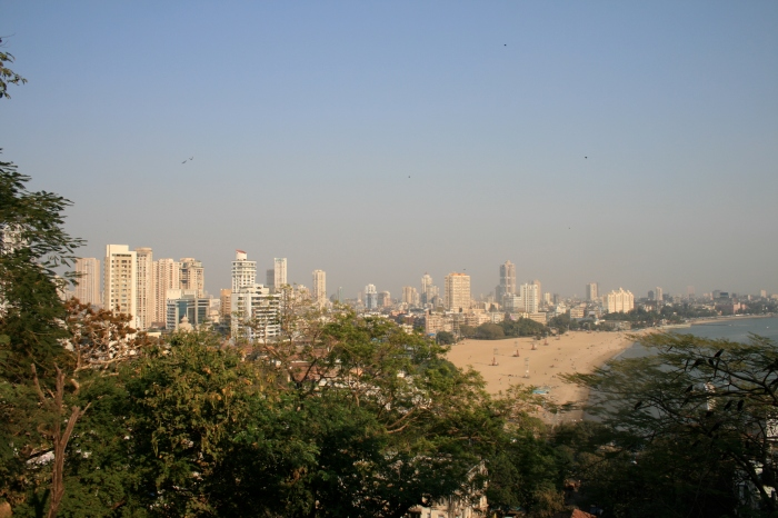 Queens Necklace - Marine Drive in Mumbai