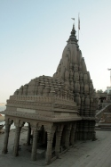 The sunken temple in Varanasi