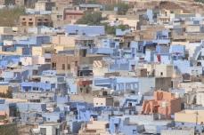 Jodphur - the blue city. Zumindest wenn man nur in eine Richtung schaut und einen Ausschnitt betrachtet.
