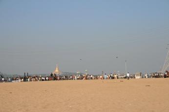 Manori Beach außerhalb von Mumbai