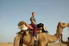 Me riding a camel
