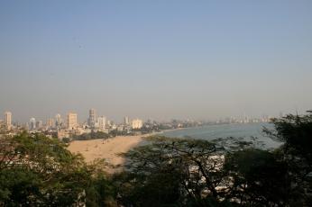 Blick über die Bucht/Candy Beach