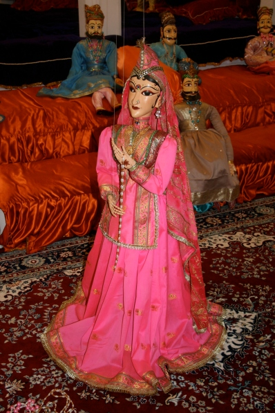 Traditionelle Rajasthani Puppe/Marionette